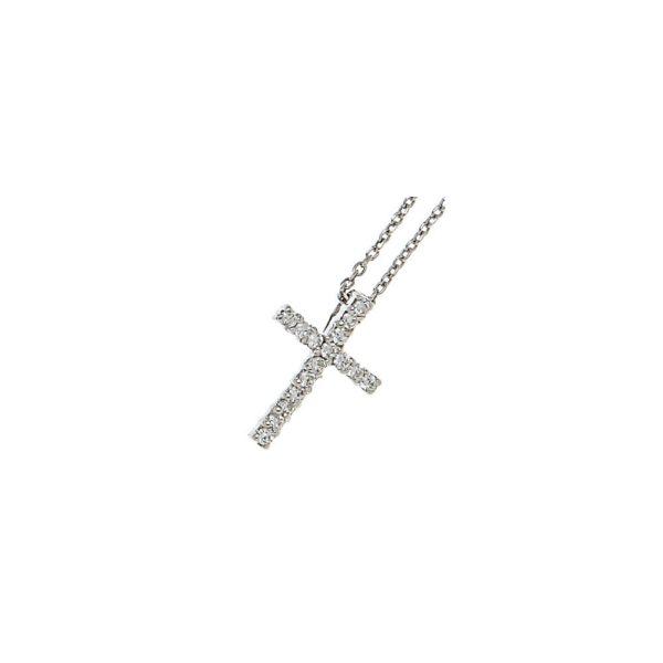 Girocollo in argento con croce