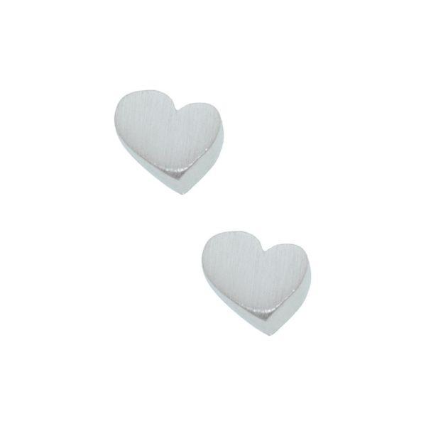 Orecchini in argento 925 ./.. a forma di cuore