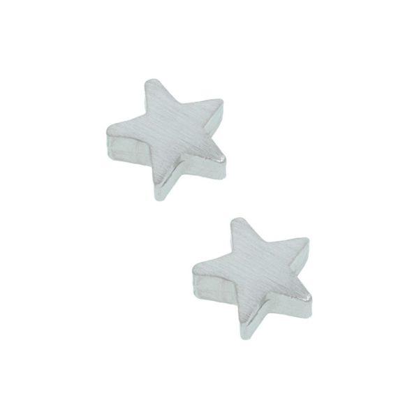 Orecchini in argento 925 ./.. a forma di stella