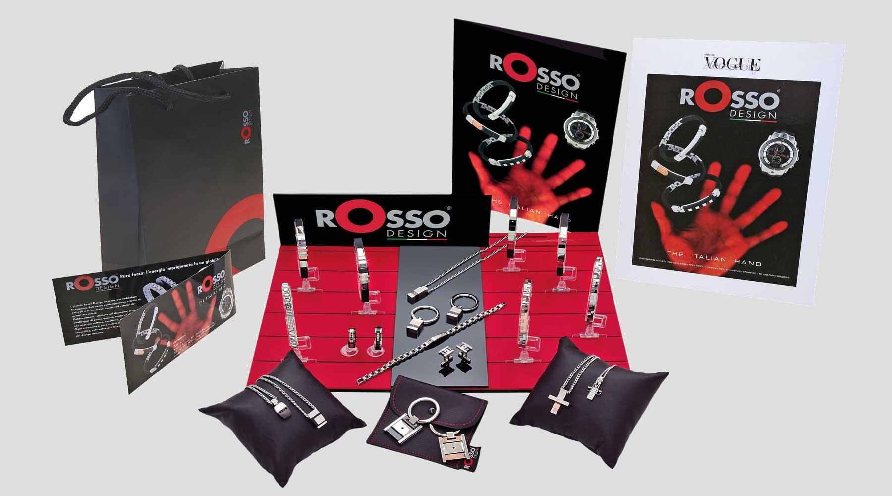 Espositore rosso design