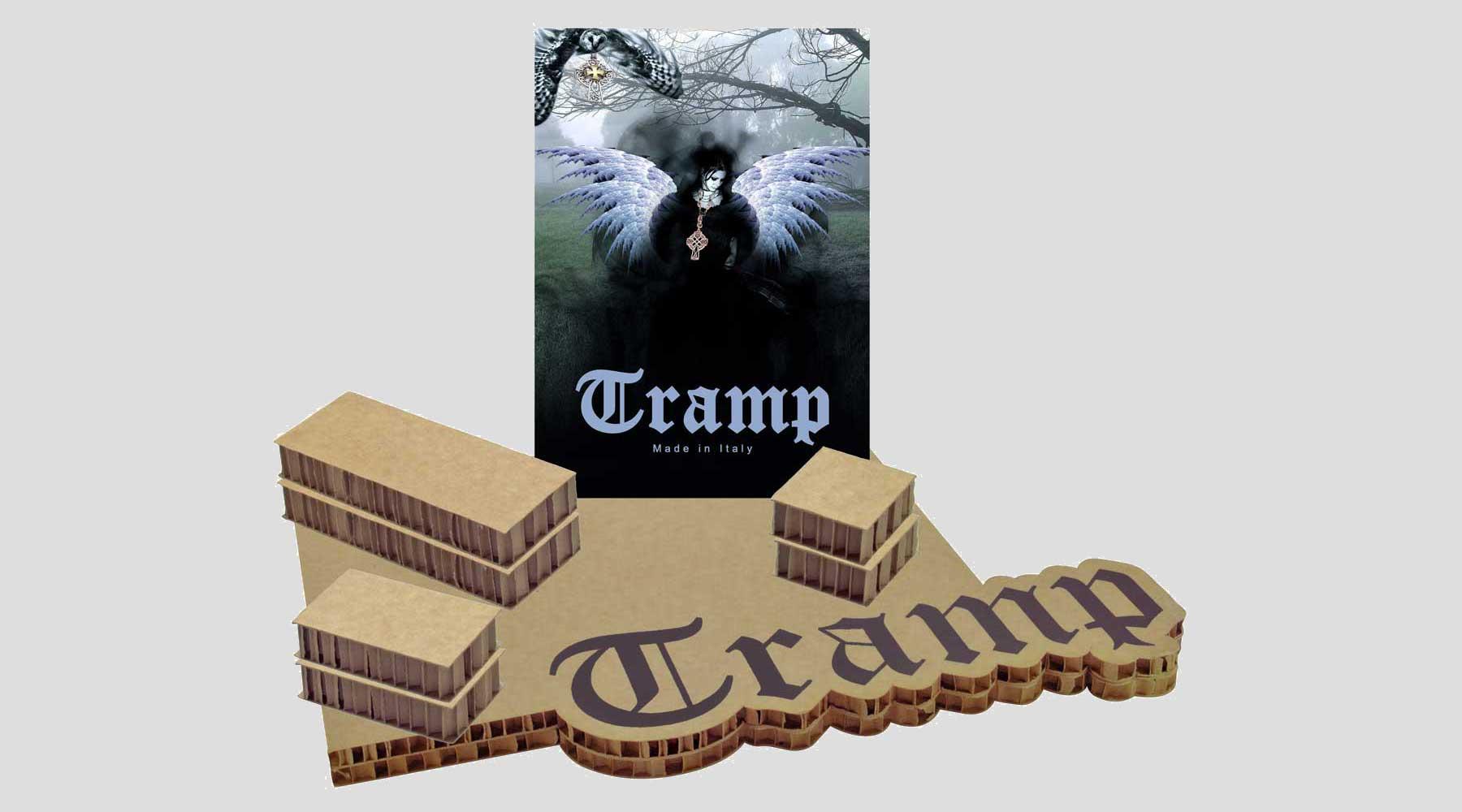 Espositore tramp